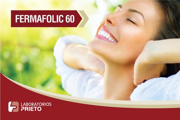 Fermafolic 60: Fuente de hierro y ácido fólico para la anemia