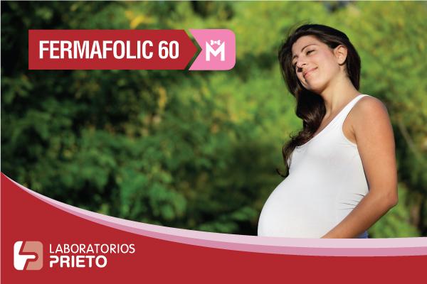 Fermafolic 60 M: Fuente hierro y ácido fólico durante el embarazo
