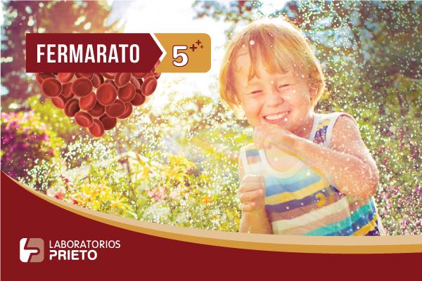 Fermarato 5+: La fuente de hierro para chicos de 5 a 12 años